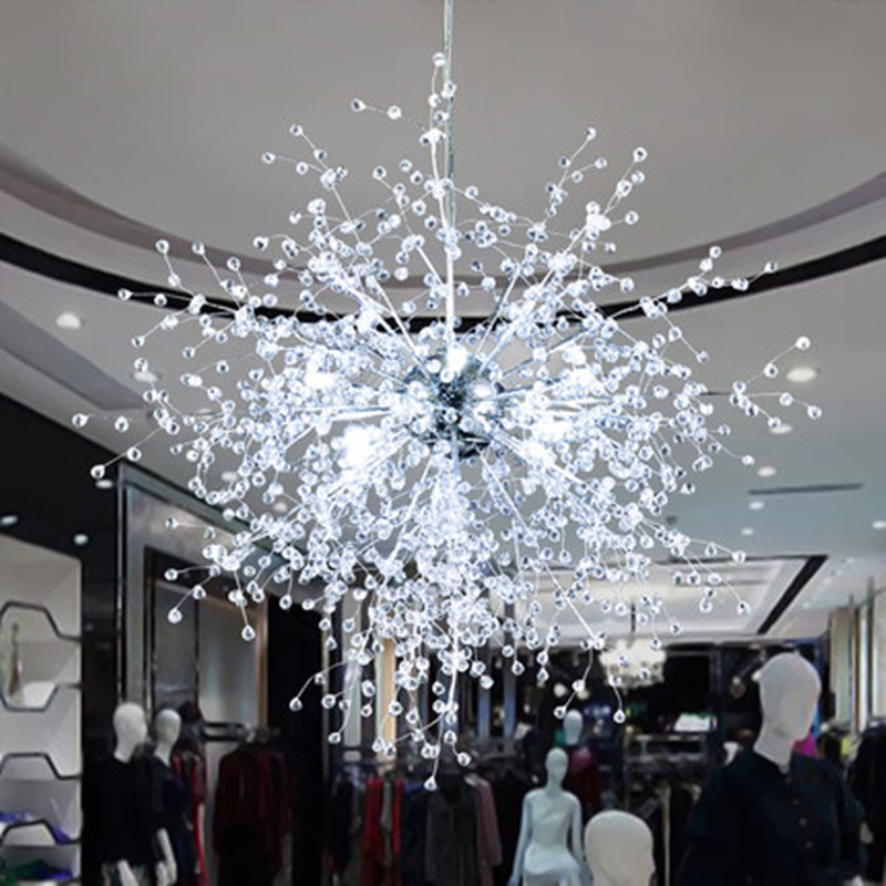Aliexpress Com Buy Modern Led Crystal Chandeliers