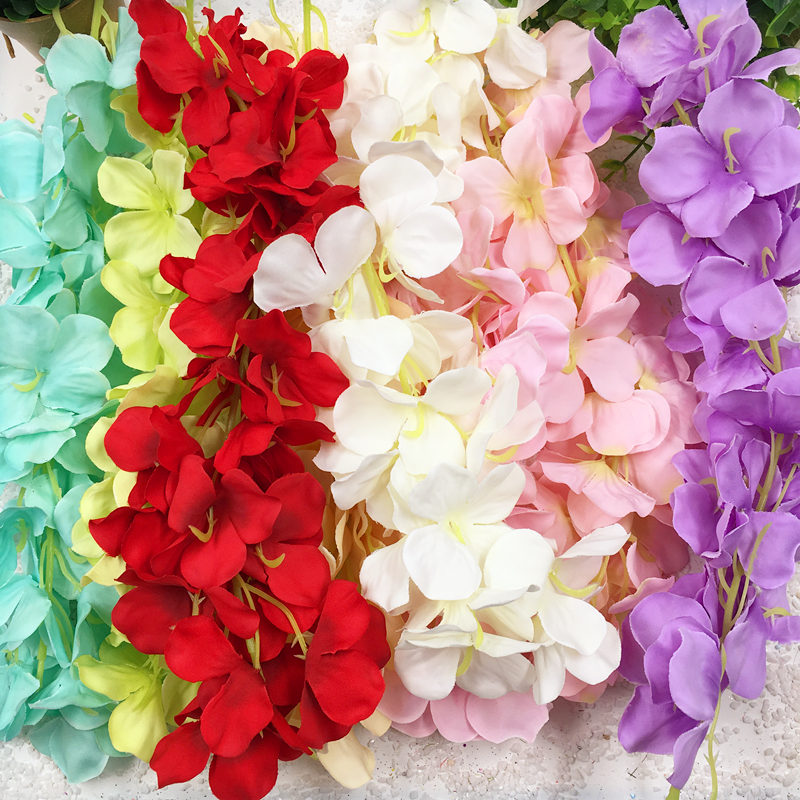 1 PCS/(30 centimeters) artificial silk wisteria wedding home decoration collage DIY garden decoration artificial flowers