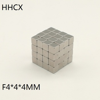 216unids/lote cubo imán 4x4x4 N35 fuerte mm imán de neodimio cuadrado 4*4*4 de neodimio cuboide imanes buck