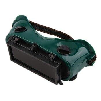 0fd962fb40 Gafas de soldadura de corte de soldadura con gafas abatibles lentes soldador  trabajo seguridad gafas protectoras