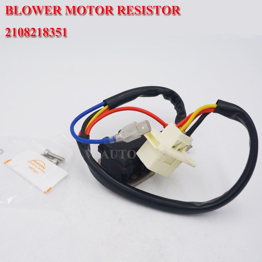 2108218351 New Blower Motor Resistor Regulator for Mercedes Benz E320 E420 E430