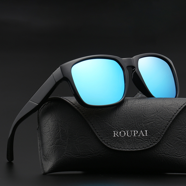 ea5aad3333 2018 New Vintage Plastic HD Polarized Sunglasses Classic Brand Sun Glasses  Resin Lens Driving Shades For Men Wome