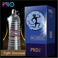 MIO Small Condoms size for Men 45mm Latex Condom Delay Ejaculation Big Particle Stimulation Ultra-small Thin Kondoms Sex Toys