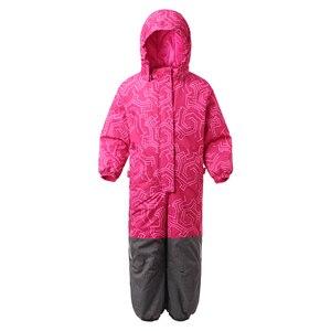 Image 2 - Moomin 2020 new Boys Winter pagliaccetto monopetto ragazzi abiti invernali cappuccio blu geometrico neonato inverno caldo snowsuit