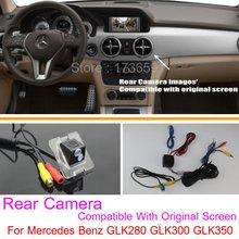 Для Mercedes-Benz GLK300 GLK350 GLK280/RCA & Оригинальный Экран совместимость/Автомобильная Камера Заднего вида/Резервное Копирование Обратный камера