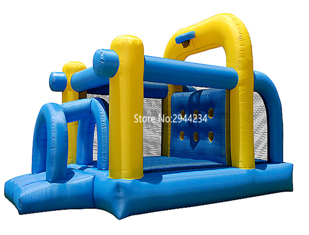inflatable obstacle course in inflatable slide for kidsinflatable obstacle course in inflatable slide for kids