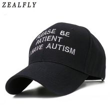 Men's Cap Baseball-Cap Letter Dad Hats Men Snapback Embroidered Women Casual for Patient