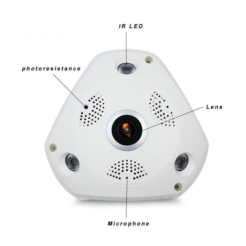 Вифи ИП ширококутна ВР камера Бежична - Безбедност и заштита - Фотографија 3