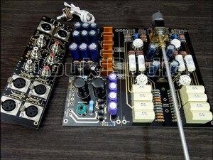 Douk audio Hi-End XLR zrównoważony/RCA przedwzmacniacz Hi-Fi rura próżniowa przedwzmacniacz płyty całkowicie diy KIT darmowa wysyłka