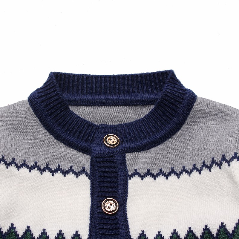 2016 Boys Sweaters Striped Cotton Top Knit Infant Outfit With Button Boy Tee Winter Warm Outerwear Cute Kids Clothes Cardigans (7)