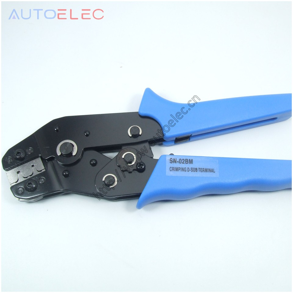 SN-02BM Crimping Pliers PH2.0 Dupont Terminal D-SUB Clamp Pliers,XH2.54, 28-20AWG Wire Cutting Mould Crimping Tool 0.08-0.5mm2