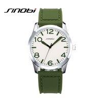 Sinobi vintage esporte masculino relógio de quartzo lazer banda de borracha relógio de pulso masculino 2019 relogio masculino #9553|masculino|masculinos relogios|masculino watch -