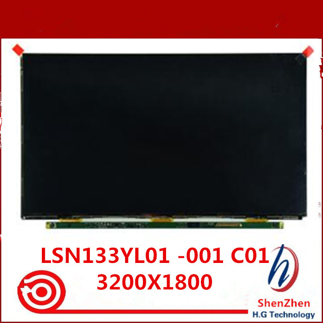 Original New For Samsung NP900X3K <font><b>Np940X3G</b></font> 13.3 inch LCD Screen Display Panel glass LSN133YL01-001 LSN133YL01-C01 image