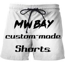 MWBAY Brand Custom Shorts Summer Personality Customization Fashion Mens  Short Men WomenHomme Shorts Beach Holiday Wear 1218369d0708