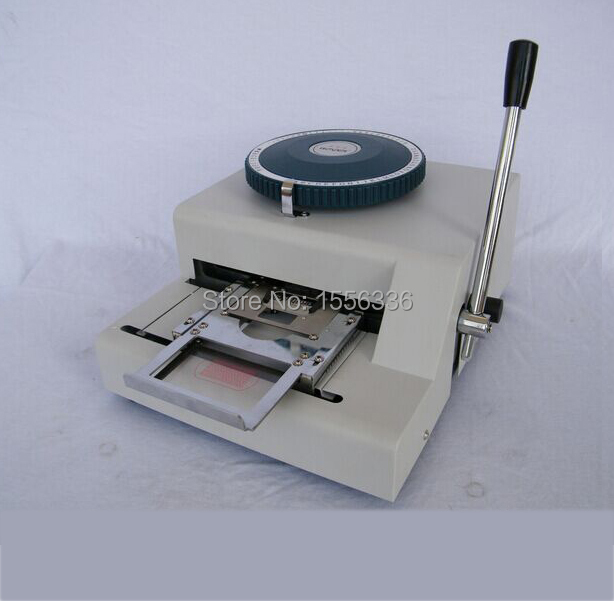 stainless steel tag embossing machine