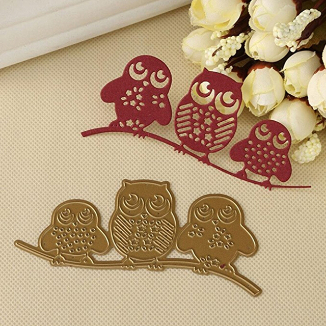 new metal frames owl paper cutting templates for scrapbooking photo