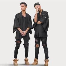 Корейский стиль Новый мужской отверстие джинсы прилив брюки мальчик хип hop джаз диджей мода slim джинсы личности брюки для певица танцор