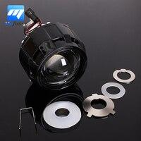 2 5 RHD Car Motor Bi Xenon For HID Projector Halo Lens Angle Eye Headlights Bulb
