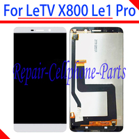 White Full LCD DIsplay + Touch Screen Digitizer Glass Assembly For LeTV Le1 Pro X800 1440x2560 Tracking Number