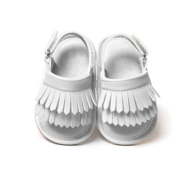 Baby Sandals PU Baby Girl Shoes Newborn PU Tassel Fashion Baby Girl Sandals Baby Boy Shoes Summer Boy Sandals