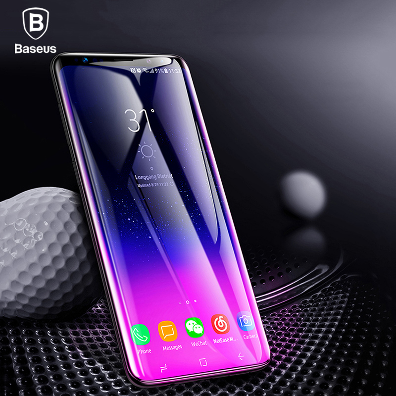 Aliexpress.com : Buy Baseus Screen Protector For Samsung Galaxy S9 Full cover 3D Arc Tempered