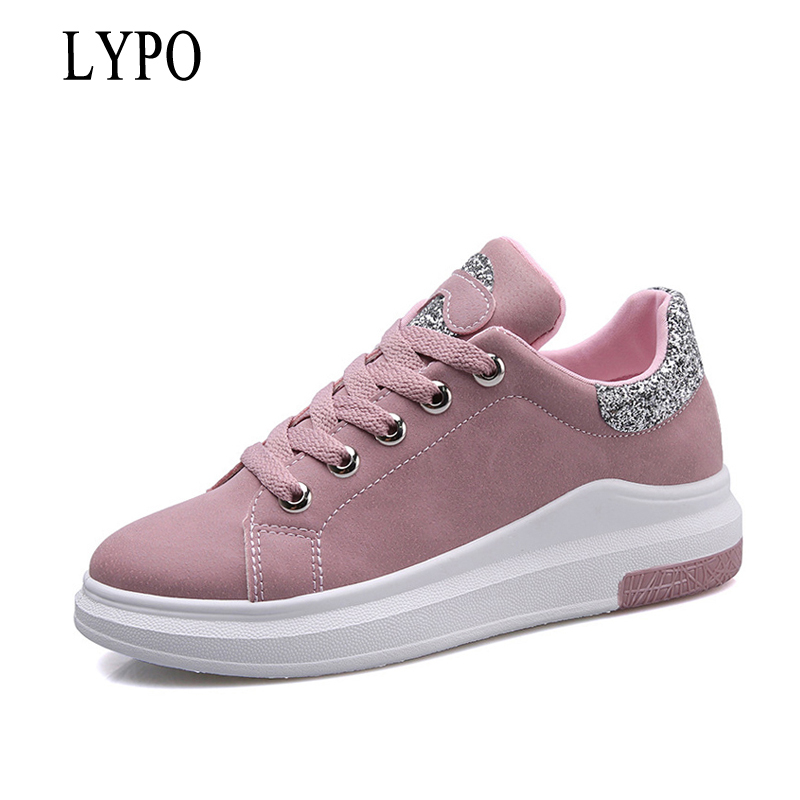 LYPO Spring Women New sneakers Autumn Soft Comfortable Casual Shoes Harajuku wild Breathable Flats Female shoes for student free shipping 2017summer autumn new fashion women shoes casual flats solid breathable simple women casual white shoes sneakers