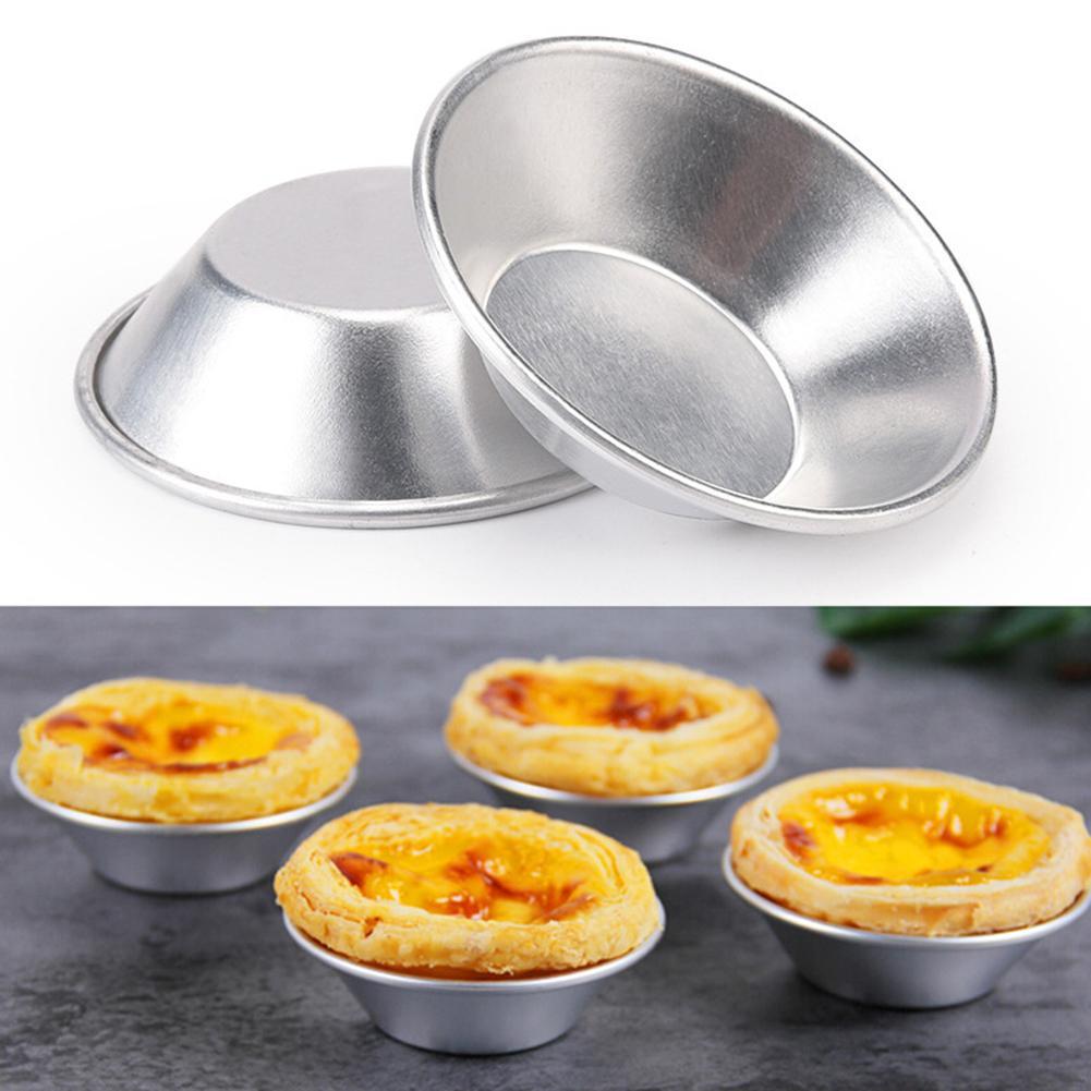 20pcs Non-Stick Egg Tart Mold Cupcake Cake Mini Pie Muffin Pan Baking Tool Molds