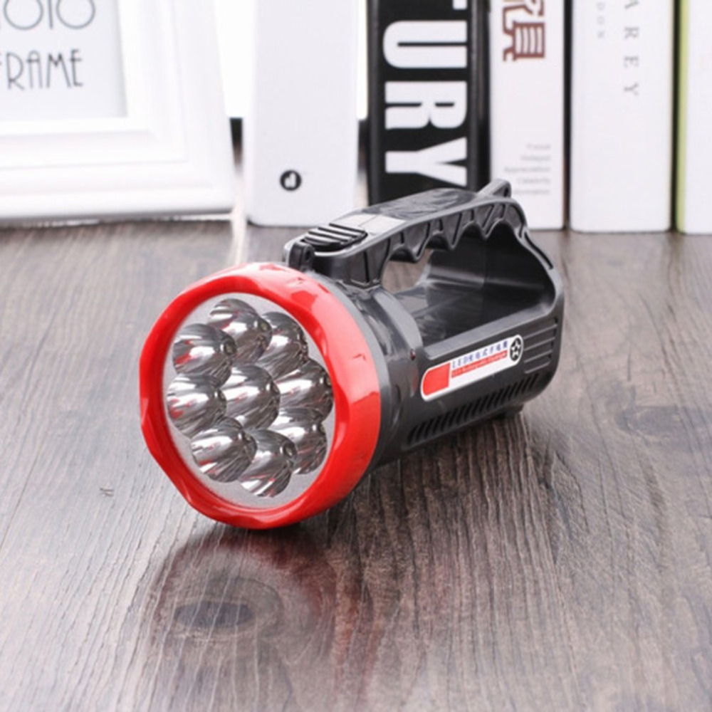Compact Size 2 Modes Super Bright Flashlight High Power LED Waterproof Outdoor Camping Hiking Hunting Torch Flashlight