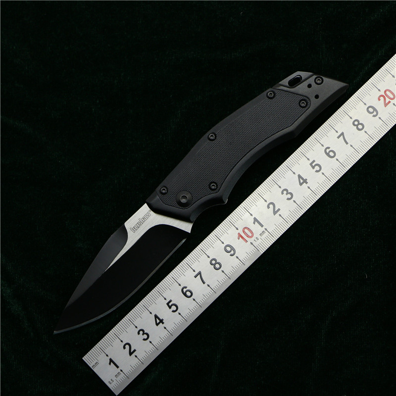OEM Kershaw 1905 flipper folding knife 8Cr13Mov blade nylon fiberglass aluminum handle camping hunting fruit knives EDC tools kershaw lahar