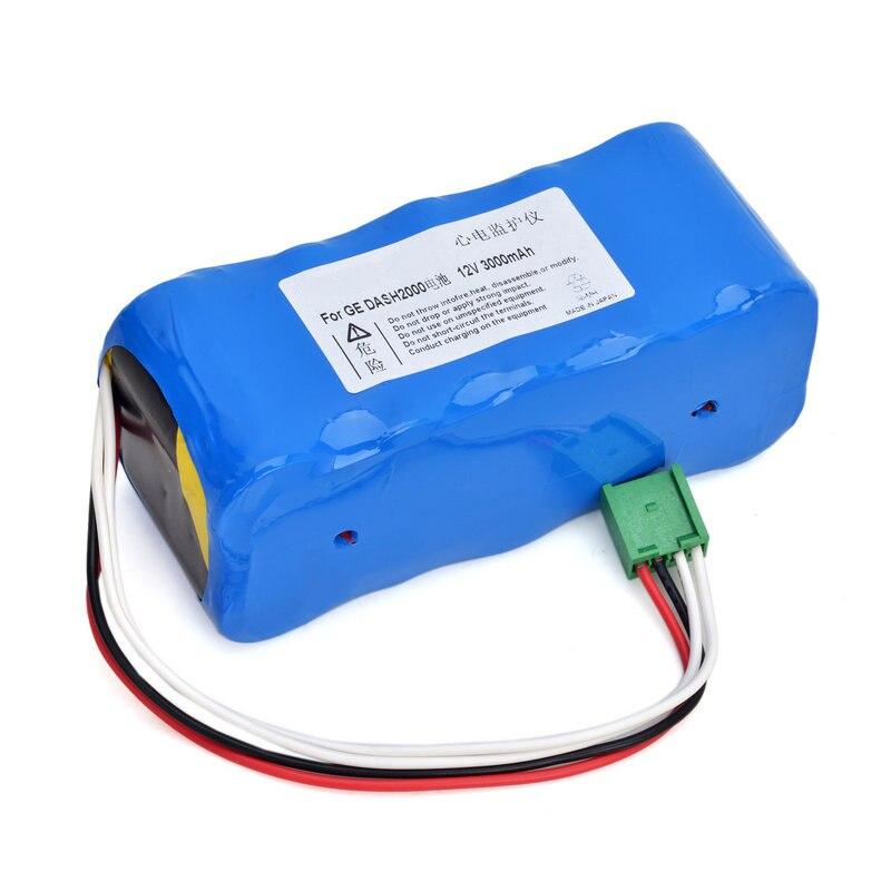 2000mAH New Vital Signs Monitor battery for GE DASH2000 DASH 2000 92916781