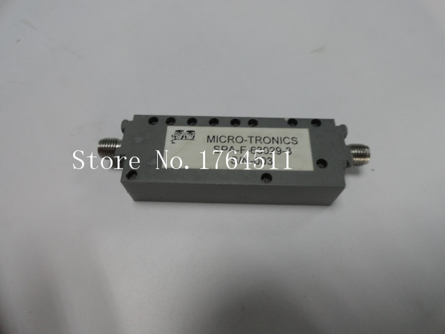 [BELLA] MICRO-TRONICS SPA-F-63029-3 5.7-18GHZ SMA (F-F) RF Filter