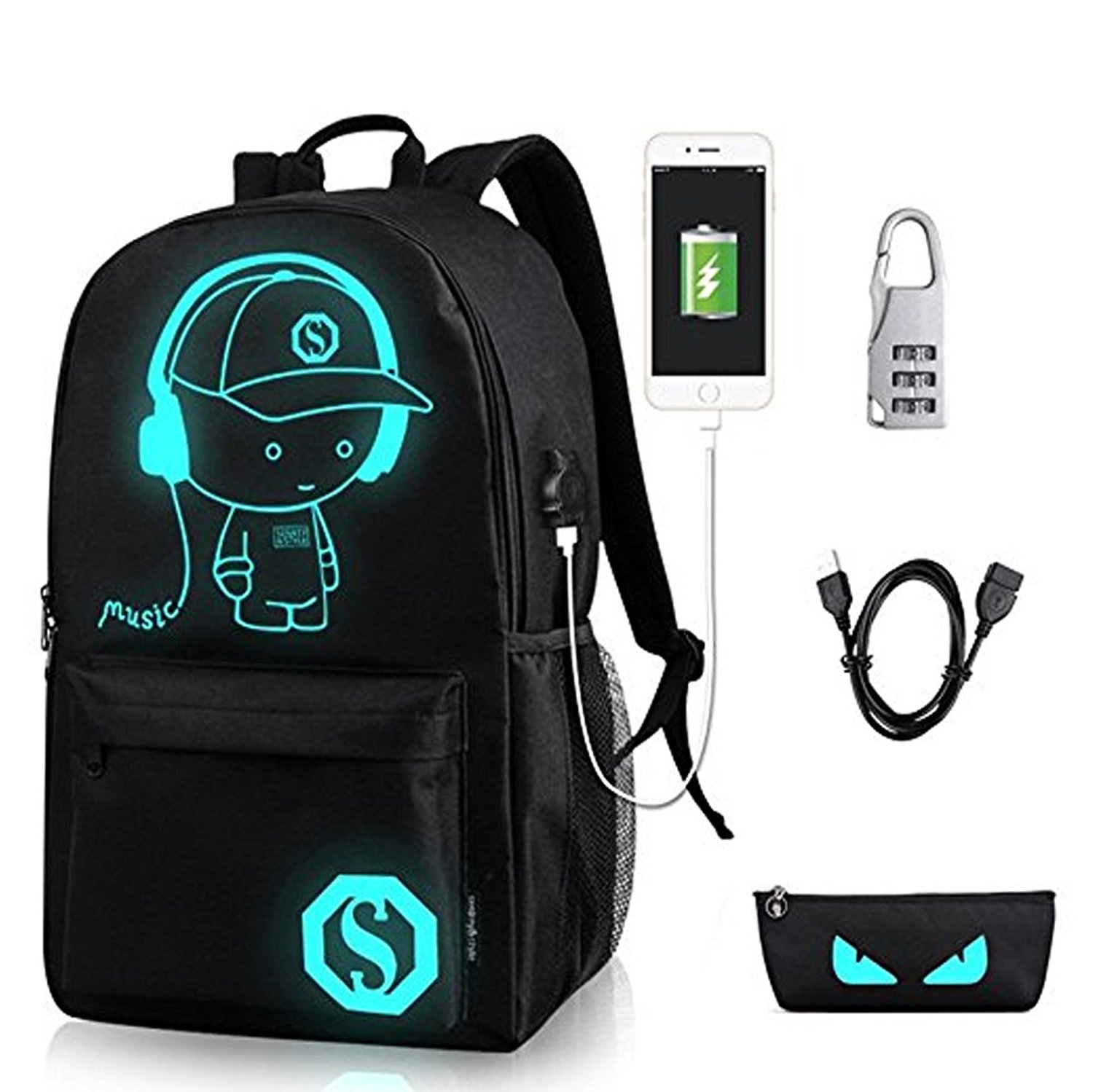 All'aperto U Sezione Zaino gray E Nuovo Corsa Bolsa Studenti 2018 Tattico Computer gray Borsa Vento U Collegio black Di Borse Set Universitari Donne No demon pirates Set Usb Music demon Uomini Black Boy Usb Per Sacchetto pirates Usb Set 8ERxqCwfx