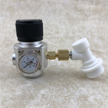 Homebrew CO2 Mini Gas Regulator  keg 0-90PSI with ball lock disconnect for Beer Tap