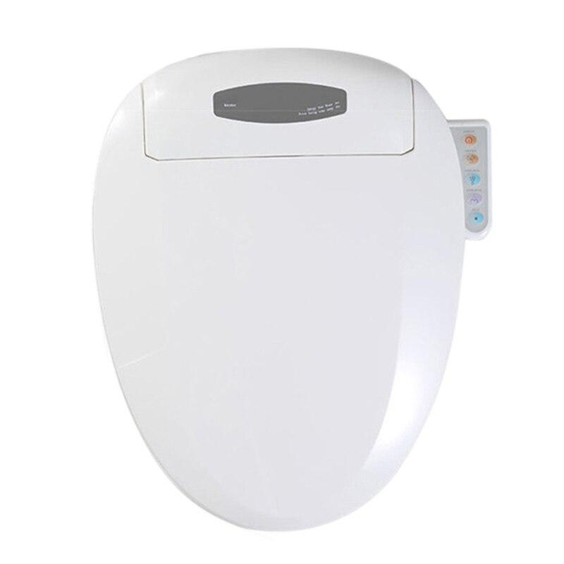 Умный Подогрев унитаза WC сайт умный шкаф для воды Автоматическая стирка сухой Туалет крышка удлиненная детская тренировка сидеть