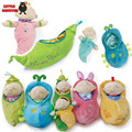Cloth baby educational toys high quality plush toys music bed sozzY around with music