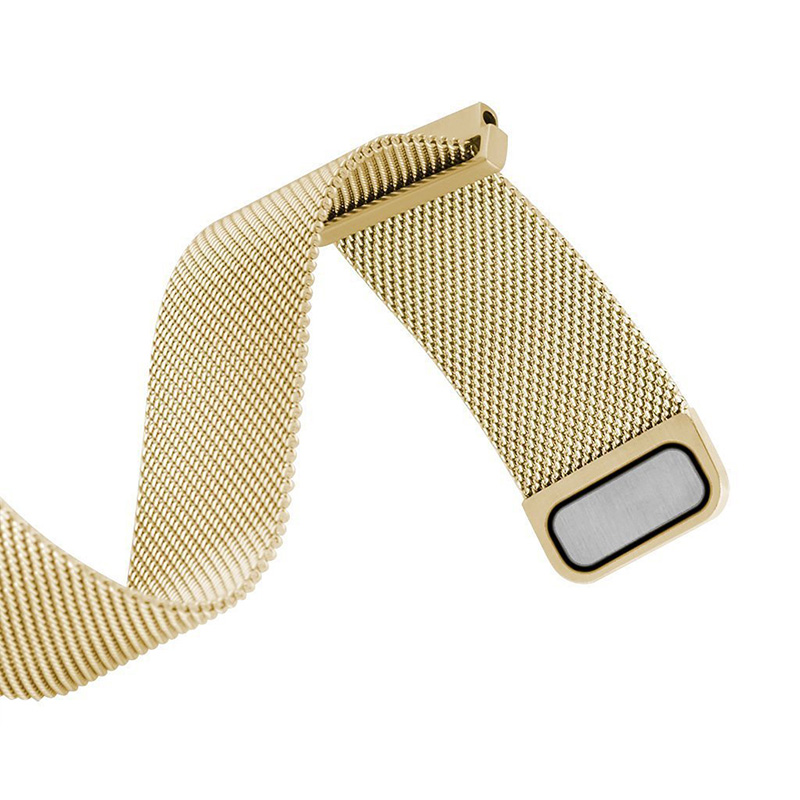 Malla Milanese Loop Watchbands 16mm 18mm 20mm 22mm 24mm Plata Rosa - Accesorios para relojes - foto 6