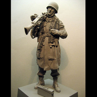 Crazy King1/16 resin figure soldier model kit World War II soldiers package gk hand white mold military 154