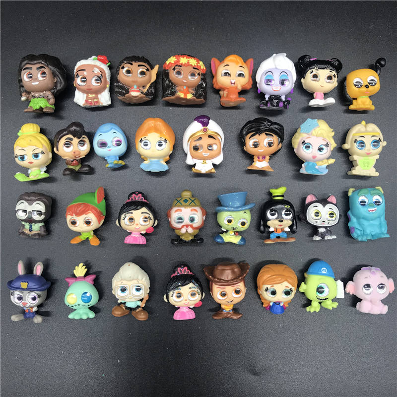 AOSST original Mickey Doll Doorables Series 1 Series 2 Princess Doll buzz stitch Zootopia Kid Toy MINI SIZE Rare Collection in Action Toy Figures from Toys Hobbies