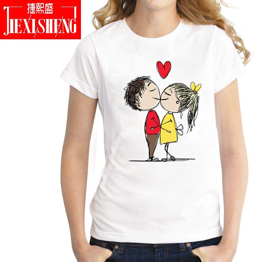 Love Sweet Funny Print T Shirt Women Casual Short Sleeves O-neck T-shirt 2018 Female Tee Tops
