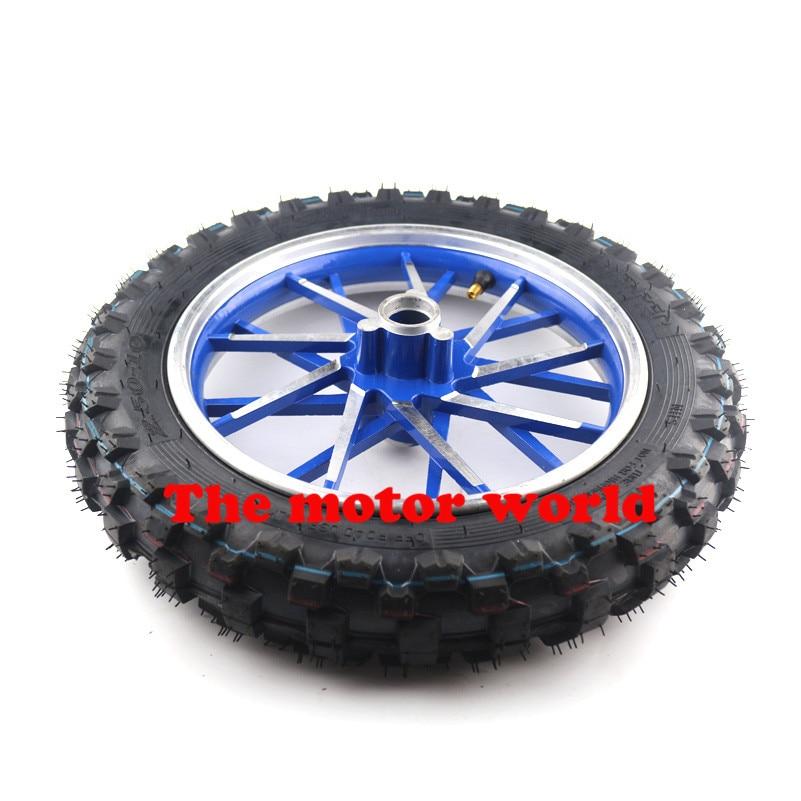 "Real Wheel Tire 10"" 2.50 10 & Rim Tyre Crf50 Crf 50"
