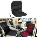 12V Car Seat Heated Cushion Hot Plush Heater Winter Warmer Cushion Black