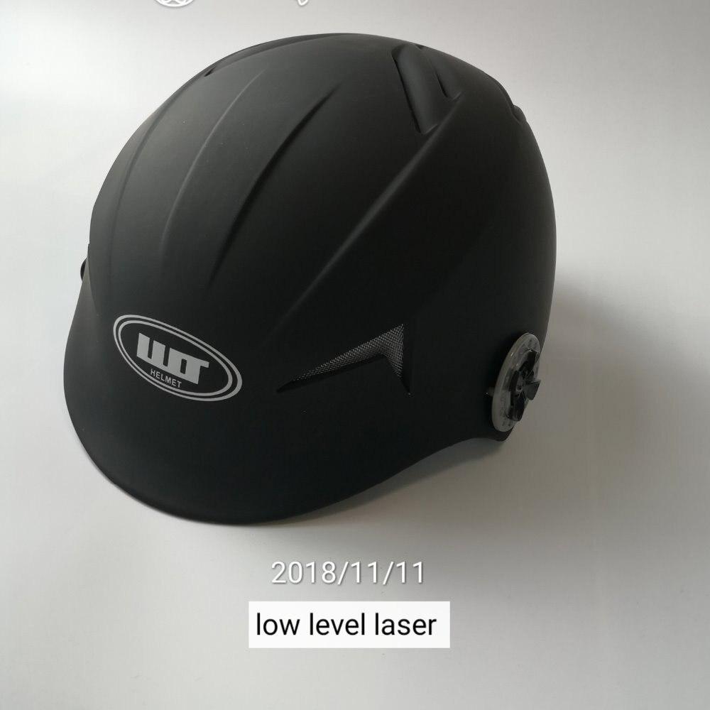 Lasers 68 suave couro cabeludo exercitador cap capacete + óculos + temporizador para venda