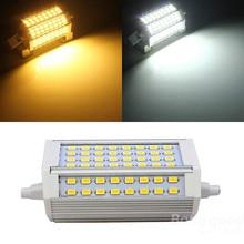 2PACK R7S 30W 3000LM 64SMD5730 Warm White/White LED Light Bulb 85-265V R7Soutdoor lighting replacement halogen lamp length 118MM