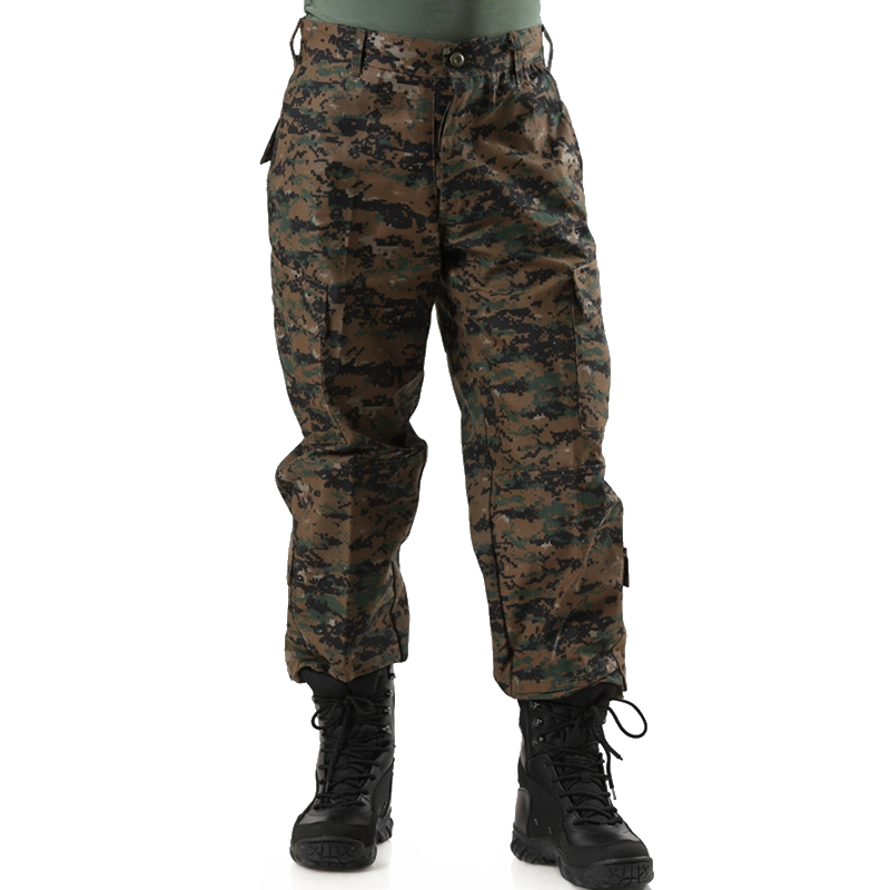 Men's Tactical Pants Lightweight Camouflage Assault Cargo Multi-Pocket Military Tactical Jungle Digital Camo Pants