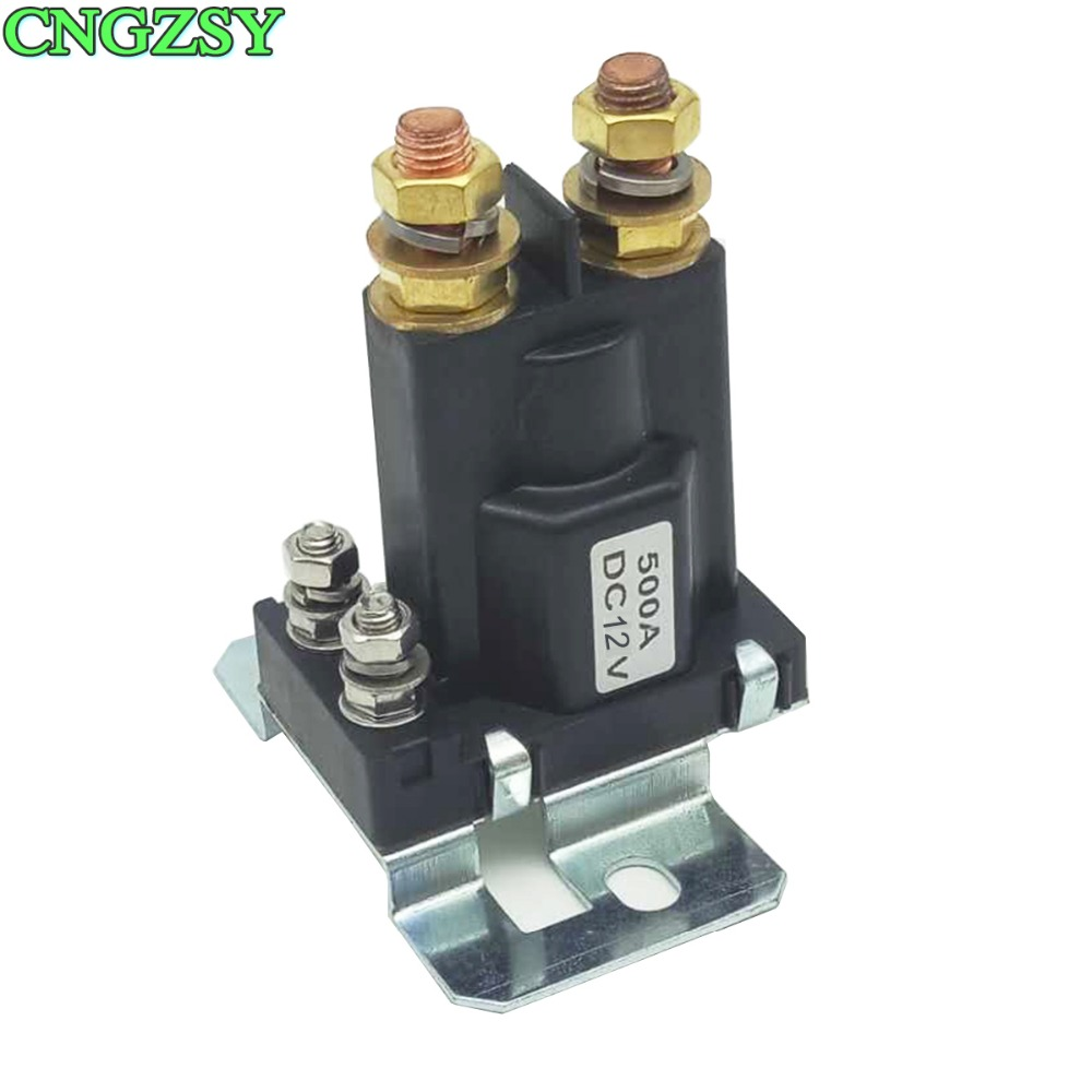 Car Auto Power On/off Switch 12/24v Heavy Duty 500a 4 Pin Relay Double Batteries Isolator Forklift Bulldozer Controller R25c Elegant In Smell Car Wash Accessories