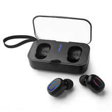 T18S TWS Wireless Earphone Mini Bluetooth Invisible Earphones Earbuds Stereo Deep Bass Headset with Portable Charging Box цены