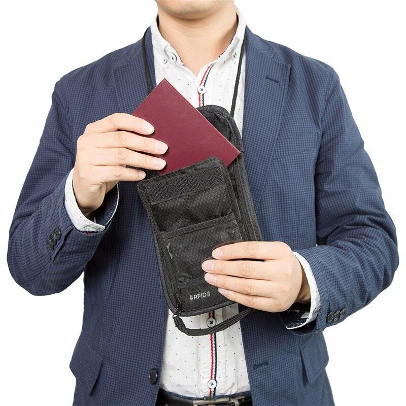 worthfind 2017 novidade rfid passaporte Composição : Nylon