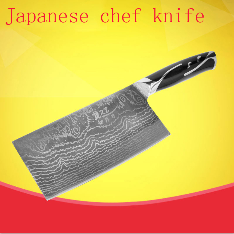 Free Shipping Mikala Stainless Steel Kitchen font b Knife b font Chef Cleaver Slicing Vegetable Meat