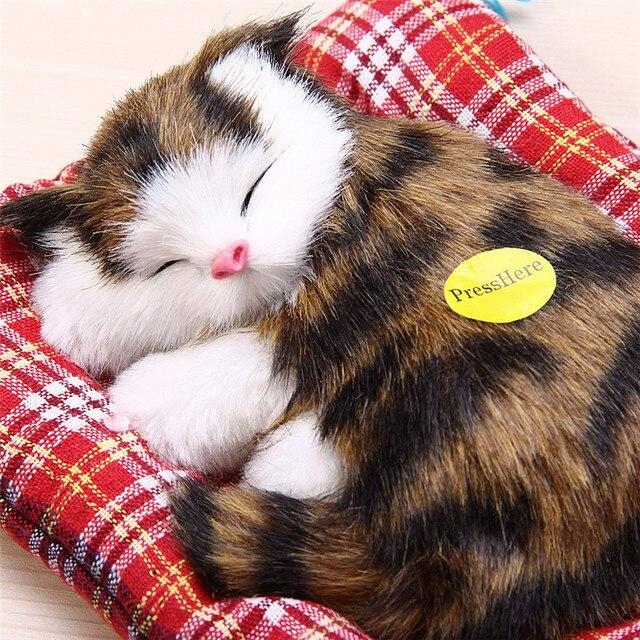 ألعاب محشوة دمية حيوان محاكاة جميلة هدية عيد ميلاد للأطفال ديكورات منزلية