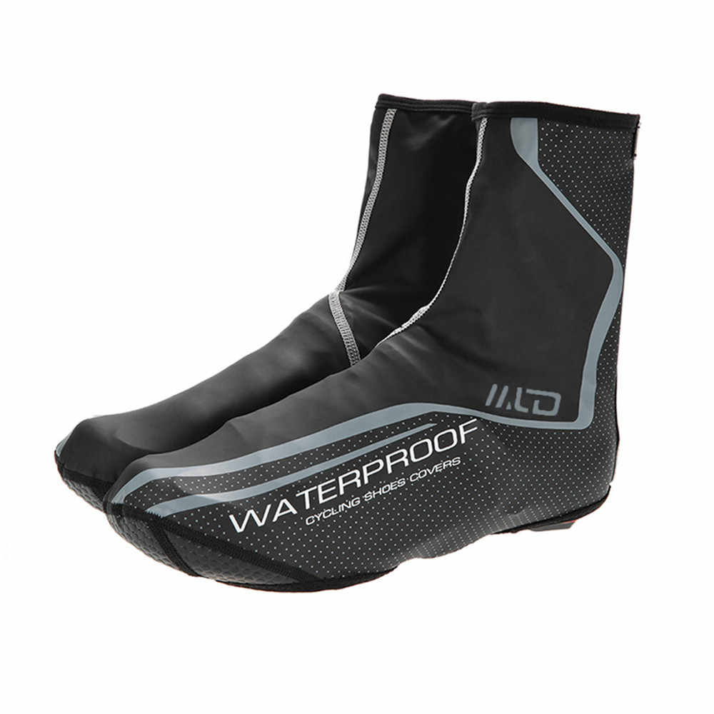 Cycling Shoe Covers Winter Warm Road Mountain Bike Shoes Cover Windproof Outdoor Sport Bicycle Overshoes  Cover #L4